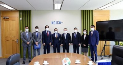 Meeting with President of KOICA