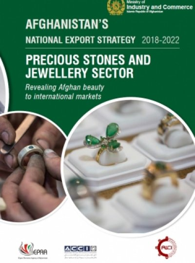 AFGHANISTAN NATIONAL EXPORT STRATEGY 2018-2022 PRECIOUS STONES AND JEWELLERY SECT