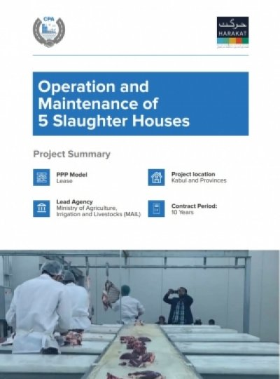 Operation and Maintenance of 5 Slaughter Houses
